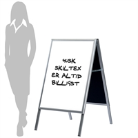 Alu-Sign Whiteboard Kundenstopper - 60x80 cm