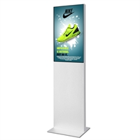 "Smart-Line Totem Digitale Infostele mit 32"" Display - Weiß"