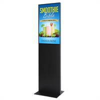 "Smart-Line Totem Digitale Infostele mit 32"" Display - Schwarz"