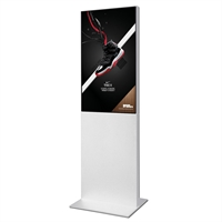 "Smart-Line Totem Digitale Infostele mit 43"" Display - Weiß"